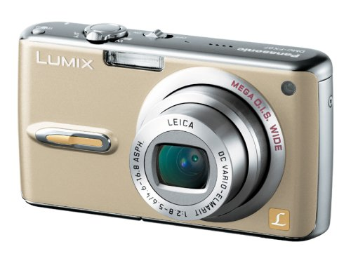 Panasonic デジタルカメラ LUMIX FX07 グロスゴールド DMC-FX07-N