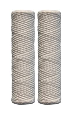 Watts Premier 500181 5-Micron String Wound Sediment Replacement Filter, 2-Pack by Watts Premier