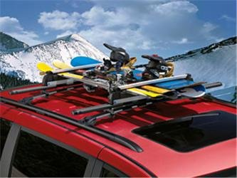 Mopar 82211313 Roof-Mount Ski Carrier, 1 Pack by Mopar