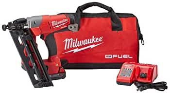 Milwaukee M18 FUEL 16ga Angled Finish Nailer Kit