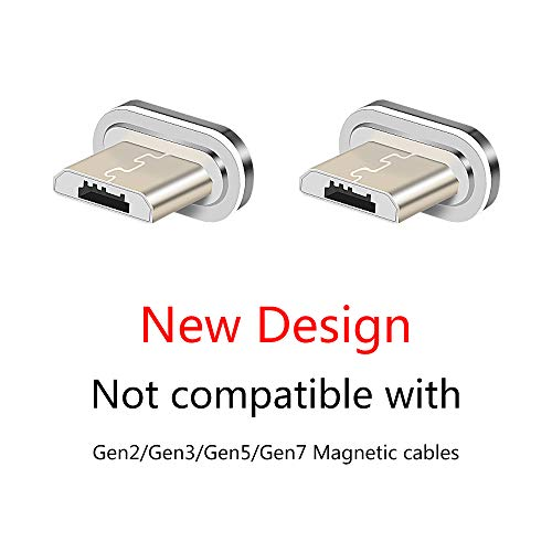 NetDot Gen10 Micro USB Connectors Without Cords(Micro USB/2 Pack Tips)