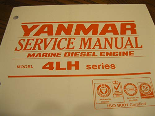 - YANMAR Service Manual , Marine Diesel Engine 4LH series AOA 1030-1