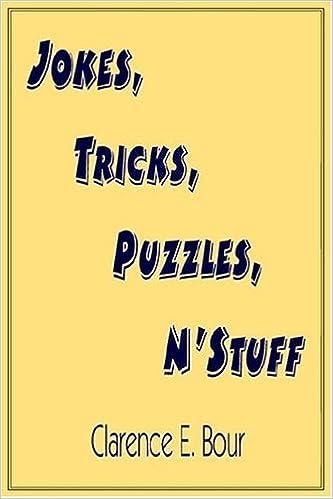 Book Jokes, Tricks, Puzzles, N'Stuff