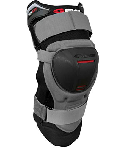(EVS SX01 Knee Brace , Size: Lg, Primary Color: Black, Gender: Mens/Unisex XF72-3154)