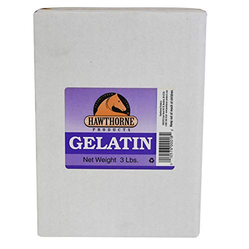 Hawthorne Products Horse Hoof Gelatin Supplement, 3 lbs