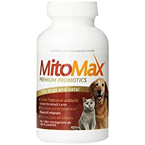 Imagilin Technology, LLC MitoMax-Premium probiotics for Dogs and Cats, 100 Capsules per Bottle 50
