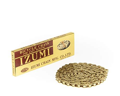 - Izumi 1/2 × 1/8 ES410GP 116 Link Single Speed Chain, Gold
