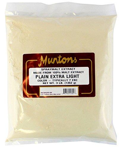 Munton & Fison (UK) Extra Light DME - 3 lbs. - Muntons Dry Malt Extract