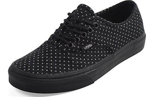 Sneakers Black Vans Mixte Adulte Basses Authentic Dots polka r5Xwq8Xtx