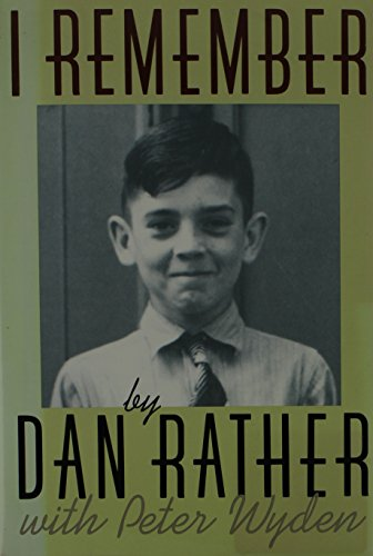 Book cover from I Remember by Dan Rather
