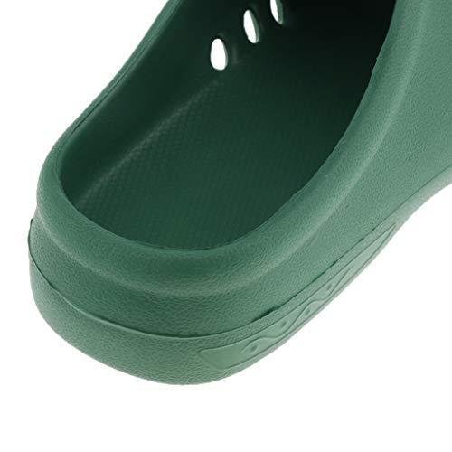 Ammortizzazione Zoccoli Morbida 37 Comodo Verde Eu Baoblaze Slip Blu Per 36 Lavoro Uomo Donna Professionali wfdRwxqTKI