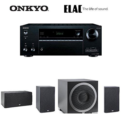 Onkyo TX-NR656 7.2 Channel Network A/V Receiver + Pair of ELAC B6 Debut Series 6.5