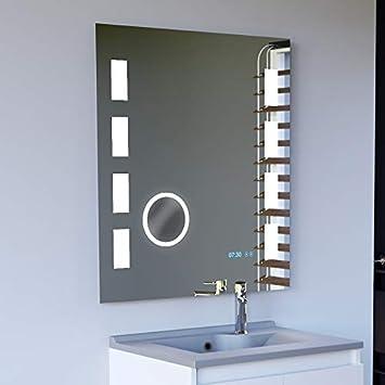 UneSalleDeBain Miroir LED Anti-buée Excellence 70x80 cm ...