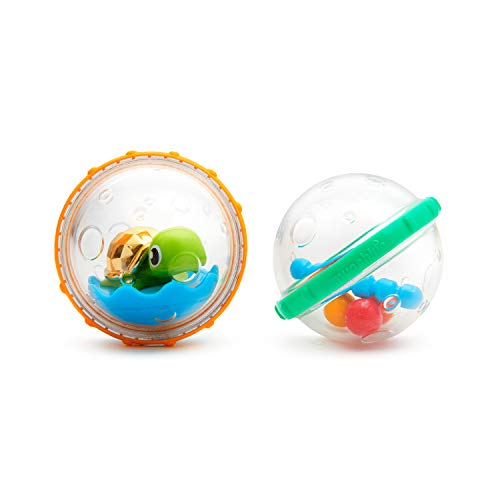 Munchkin Float and Play Bubbles Bath Toy 4 Count