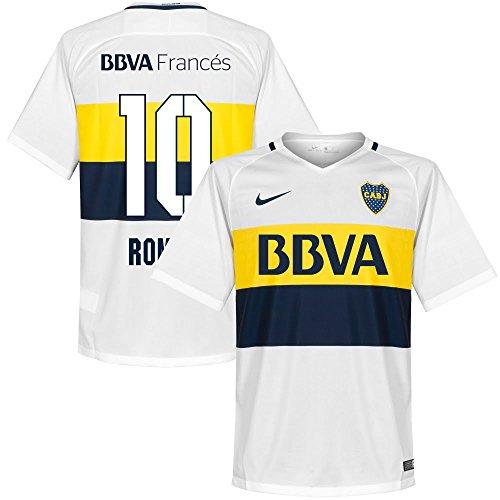 Boca Juniors Away Jersey (Boca Juniors Away Roman Jersey 2016 / 2017 (Fan Style Printing) - XXL)