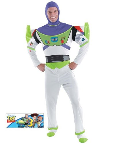 Deluxe Buzz Lightyear Adult Costume - X-Large ()