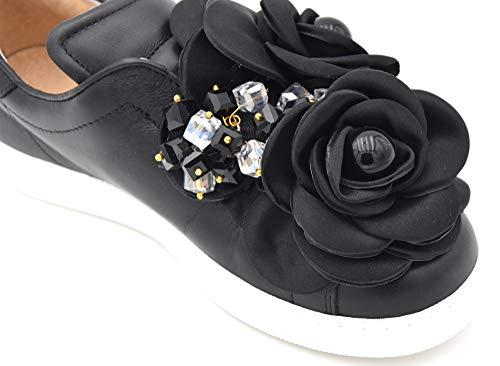 Tulipano Marilyn On Slip Black Monroe Nero Casual Donna Scarpa Sneaker Pokemaoke Art gq0UHH