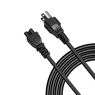 Fancy Buying 16 AWG Mickey Mouse Plug Ac Power Supply Cord AC Adapter Laptop Notebook Computer Charger Cable: IEC-60320 IEC320 C5 to NEMA 5-15P (NEMA 5 - 15P to IEC C5) Heavy-Duty Laptop