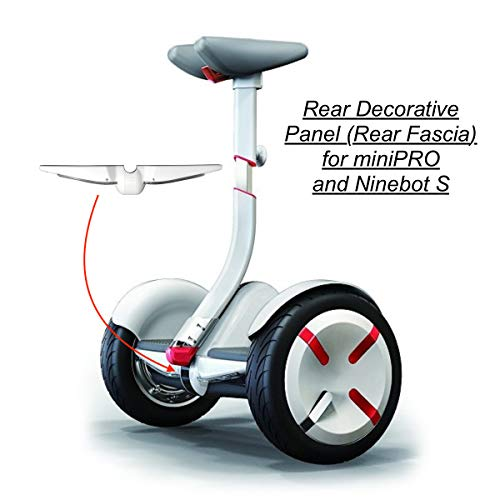 M4M Decorative Rear Panel (Rear Fascia) for Segway miniPRO and Ninebot S (White)