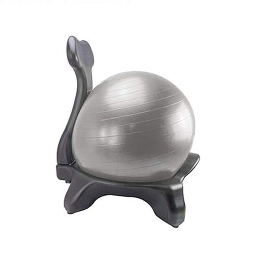 Wly&home Silla de balón de Equilibrio, Silla de Escritorio con ...
