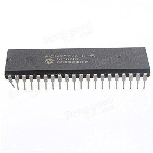 PhilMat DIP-40 Microchip PIC16F877A Mikrocontroller IC