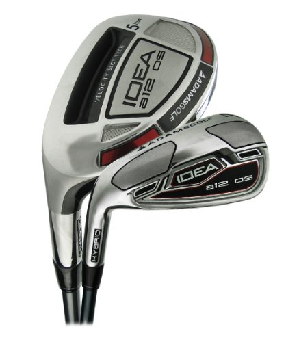 Mens Idea A12 Os Hybrid Irons #4H,#5H,#6H,#7 Thru Gw Graphite