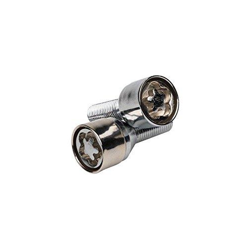 Sumex antivol de roue BUTZI chrome avec empreinte 12x1.25 L28 conique
