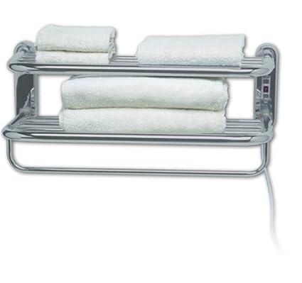 Amazon.com: Warmrails Towel Shelf Wall Mounted Towel Warmer and ...