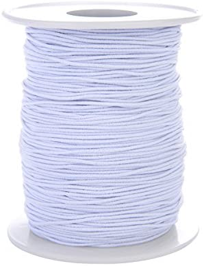Amazon Com Tubala 0 8 Mm Elastic Cord Stretch Thread Beading Cord Fabric Crafting Thread White Elastic String For Jewelry Making Bracelet Beading Thread 100 Meters