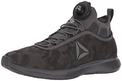 Reebok Men's Pump Plus CAMO Running Shoe, Ash Grey, 9.5 M US (Reebok Men Pump)