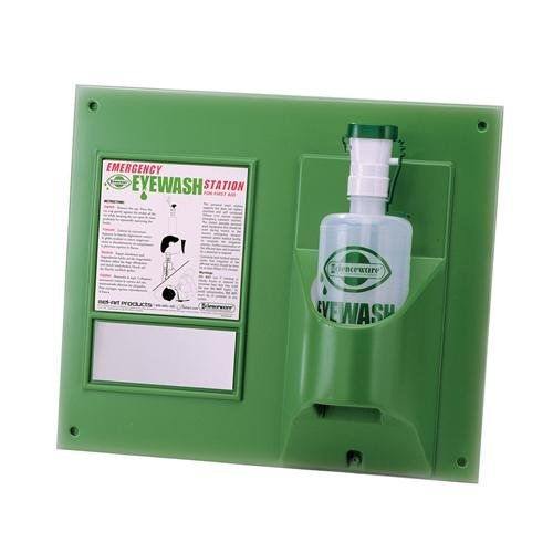 Bel-Art F24868-0000 Emergency Eye Wash Safety Station with Two 1000 mL Bottle, Double Station, 34.9 cm Height, 45.7 cm Wide (Pack of 12) by Bel-Art Products