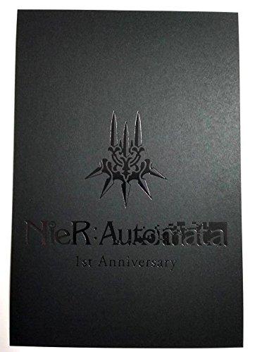 Postcard Cafe (NieR Automata Replicant / Gestalt Postcard 1st Anniversary Square Enix Cafe F/S)