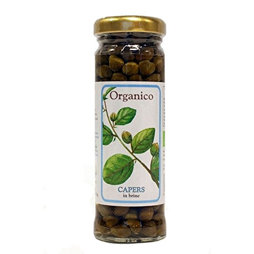 Organico Capers in Brine 95g - Pack of 6
