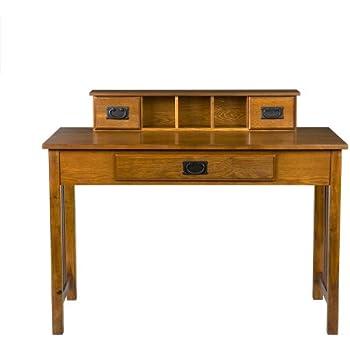 Amazon Com Southern Enterprises Francisco Writing Desk 45