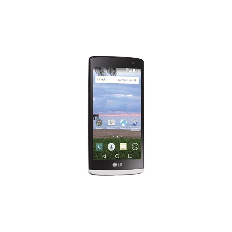 LG Sunset L33L White Android Prepaid Pho