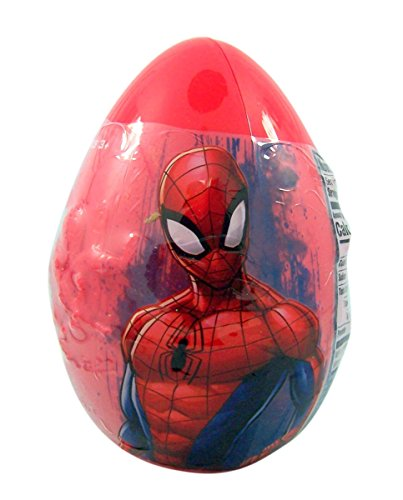 Marvel Spiderman Giant Easter Egg Assorted Candy Mix]()