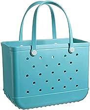 Extra Large Beach Bags, Tip Proof Durable Open Tote Pool Bag, Waterproof SandProof Beach Hollow Handbag, Trave
