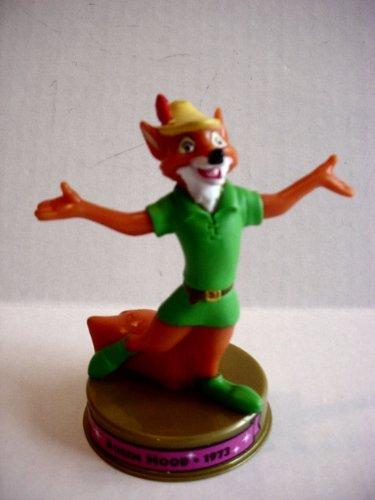 (2002 Mcdonalds 100 Years of Disney Robin Hood Figure Happy Meal Toy)