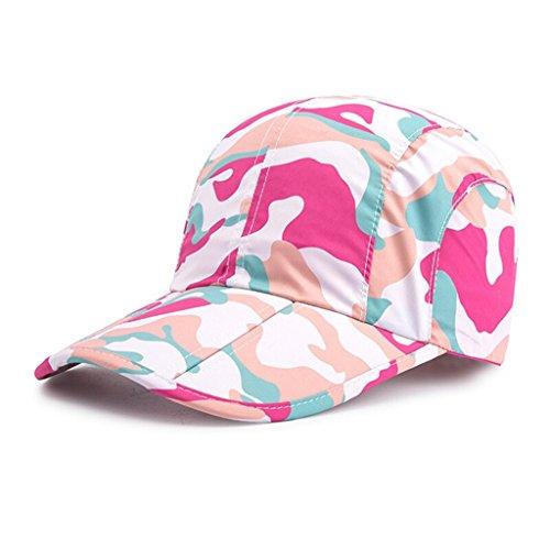 Libre Viaje Verano Ajustable En Plegable Mujer Gorras Sombrero Rosered Aire De De Al De Rápido Beisbol Hombre OneSize Secado Deportes Ocio wIUw8gq