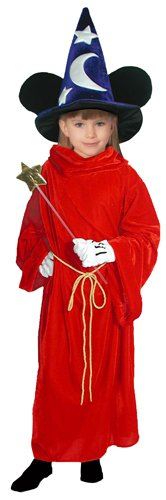 [Disney/Fantasia Sorcerer's Apprentice -- Mickey Mouse -- Child L Costume] (Sorcerer Apprentice Costume)