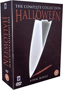 Halloween: The Complete Collection Eight Disc Box Set DVD ...