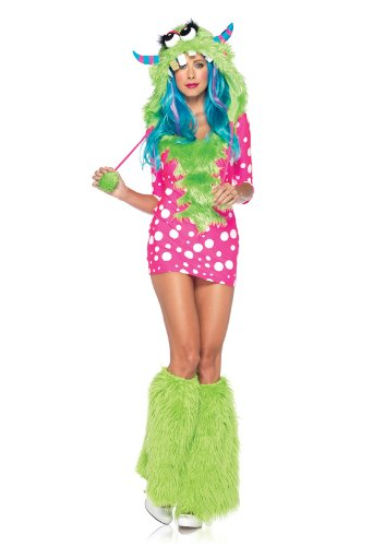Monster Costumes Women (Melody Monster Adult Costume Small/Medium)