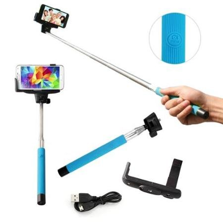 Selfie Stick Monopod with Build-in Bluetooth from A-Mire Offer Extendable Phone Holder with Bluetooth Shutters Remote Self-shooting Best for Travel for iPhone 6, iPhone 6 Plus, iPhone 5 5s 5c, Smartphone, Have the perfect picture Now! by Amire (Image #5)
