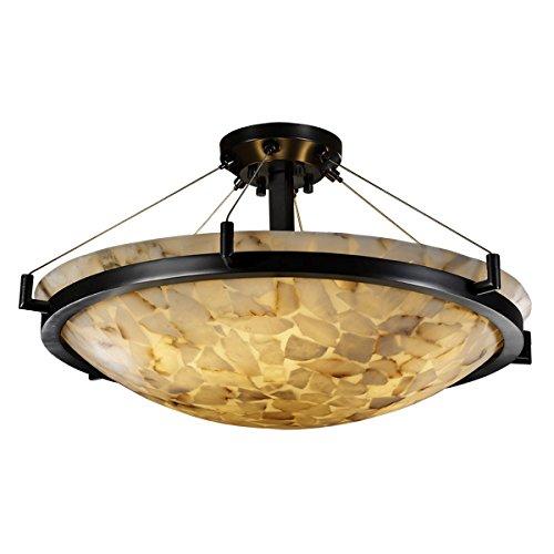 Justice Design Group Lighting ALR-9682-35-MBLK-LED5-5000 Ring 27
