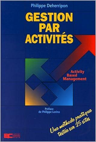 Livres gratuits Gestion par activités pdf, epub ebook