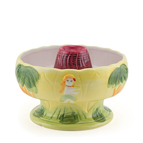 Big Volcano Ceramic Tiki Cocktail Drink Bowl - Scorpions - 48 Ounces (Best Fish Bowl Drinks)