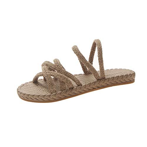 - Clearance! Summer Fashion Ladies Versatile Woven Flat Slippers Casual Beach Shoes Summer Beach Platform/Wedge/High Heel Slippers for Girls Women Ladies Indoor Outdoor Under 10 Dollars