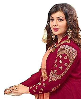 b81f02ad73 Amazon.com: Designer Wedding Salwar Kameez Fashion Bollywood Indian/Pakistani  Fashion Dresses for Women Suit (Peach, Custom Stitched): Clothing