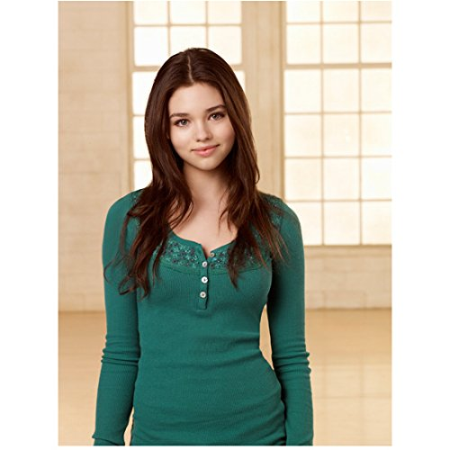 The Secret Life of an American Teenager India Eisley as Ashley with arms at sides 8 x 10 Inch Photo