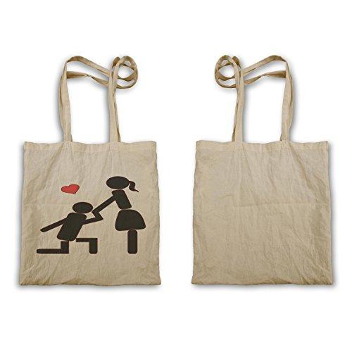 Lieben Sie mich Valentinstag-Paar-lustiges Geschenk Tragetasche d542r